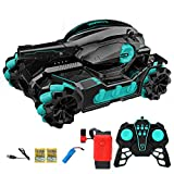 Large Water Bomb Toy Tank Car - Gesture Induction Tank RC...