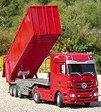 RC LKW Mercedes-Benz ACTROS mit KIPP-Anhänger Länge 44cm...