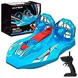 EXTSUD Hovercraft Kinderspielzeug, 2-in-1 Rennboot und...