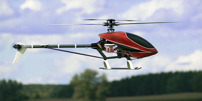 Ferngesteuerte Hubschrauber